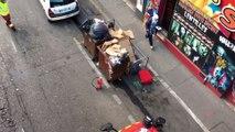 Marseille : un camion s'est renversé sur le cours Lieutaud, le trafic est perturbé
