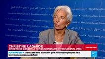 Réunion annuelle FMI/Banque mondiale - Interview de Christine Lagarde, Directrice générale du FMI