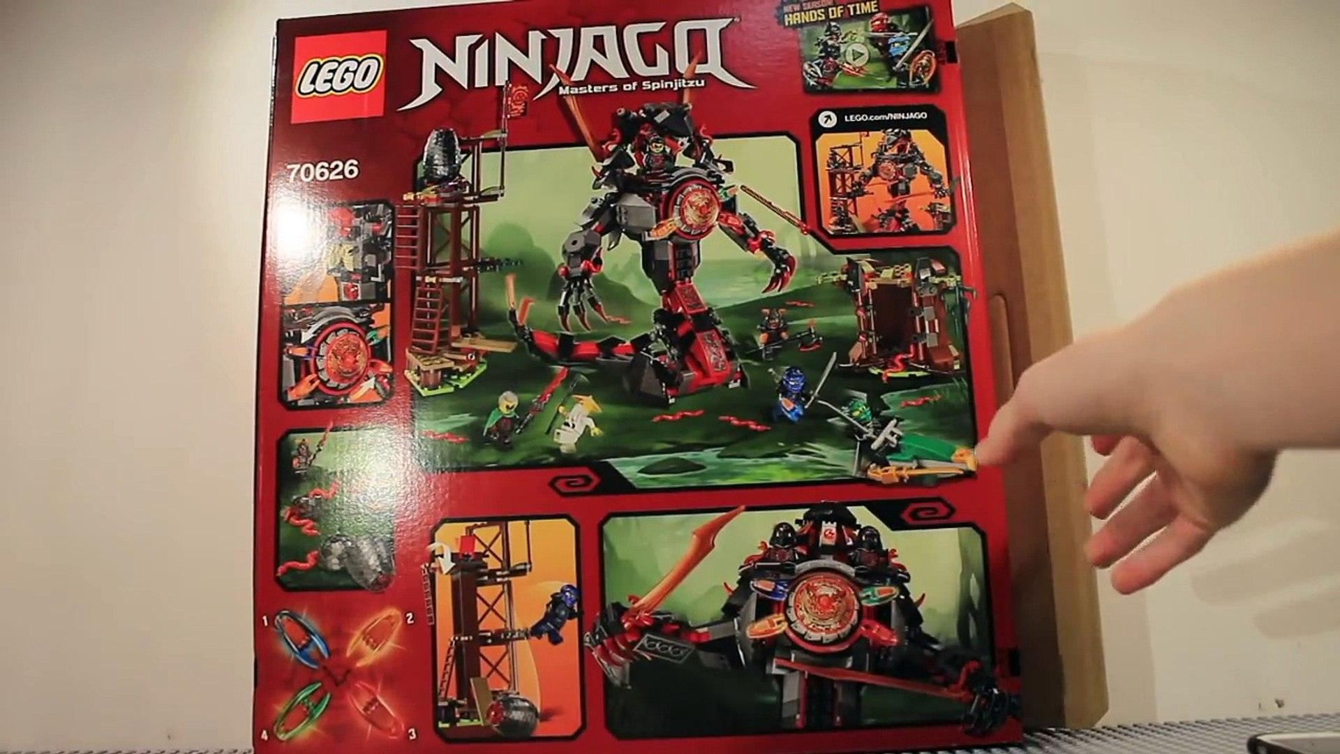 LEGO Ninjago 2017 Dawn of Iron Doom review! 70626! – Видео Dailymotion