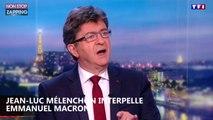 Emmanuel Macron : Jean-Luc Mélenchon le menace et le tutoie en direct sur TF1 (Vidéo)
