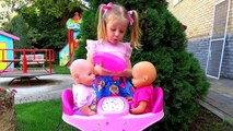 Bad Kids Eating Giant Candy! Learn Colors with Baby Born dolls Johny Johny Song Nursery Rhymes Songs-wN-4MO3NEdc