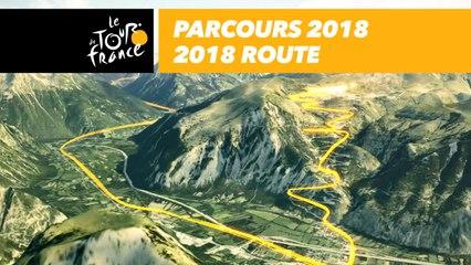 Parcours / Route 3D - Tour de France 2018