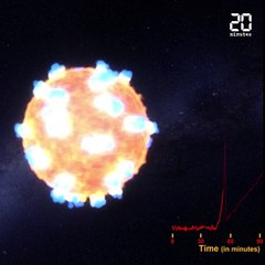 Une fusion d'étoiles à neutrons observée pour la première fois