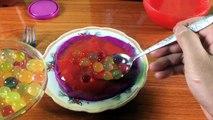 Eating ORBEEZ BALLS & SLIME PIZZA!!! Kluna Tik Dinner #81 _ ASMR eating sounds no talk-Wcw4o0G-UJI