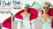 Pink Set to Top Billboard 200 with 'Beautiful Trauma' | Billboard News