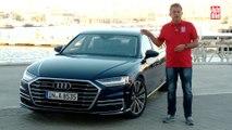 VÍDEO: prueba del nuevo Audi A8, muy moderno y con mucho estilo
