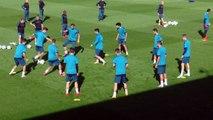 Real Madrid - Tottenham - El manotazo de Lucas a Marcos Llorente - Diario AS