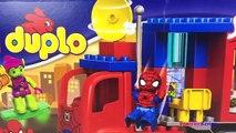 LEGO DUPLO MARVEL ID 10608- SPIDER TRUCK ADVENTURE SPIDERMAN & GREEN GOBLIN STOP MOTION - UNBOXING