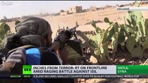 Inches from terror: RT on frontline amid raging battle against ISIS
