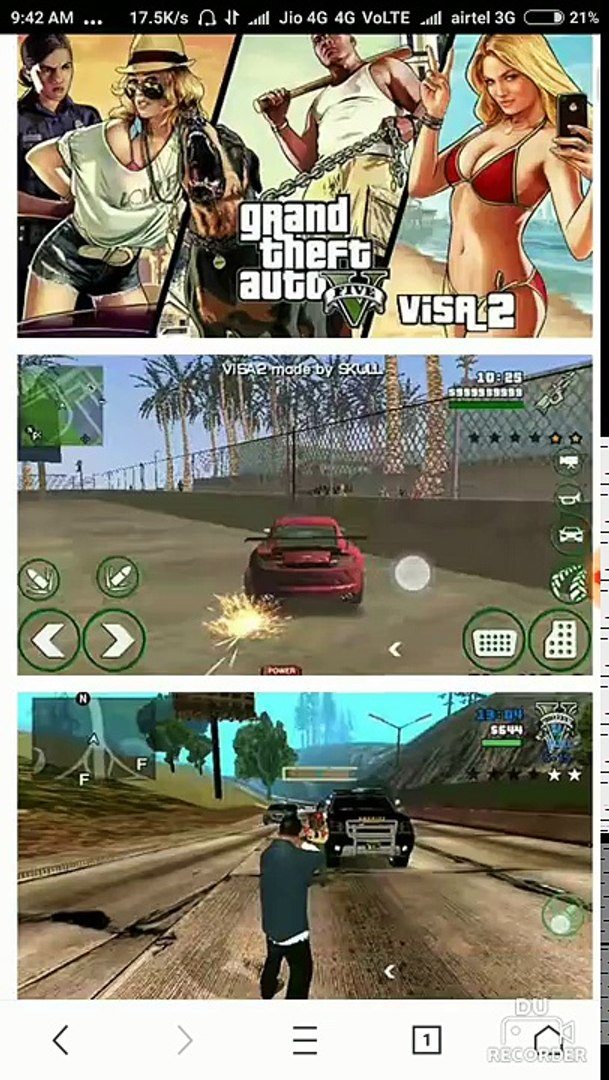 GTA-5 available on play mob org & how to download this Android game (Hindi)