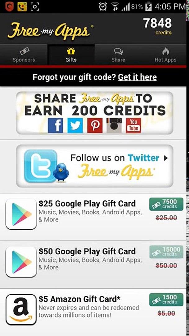 شرح برنامج free my apps وكيفية ربح و شراء الجواهر في لعبة كلاش اوف كلانس