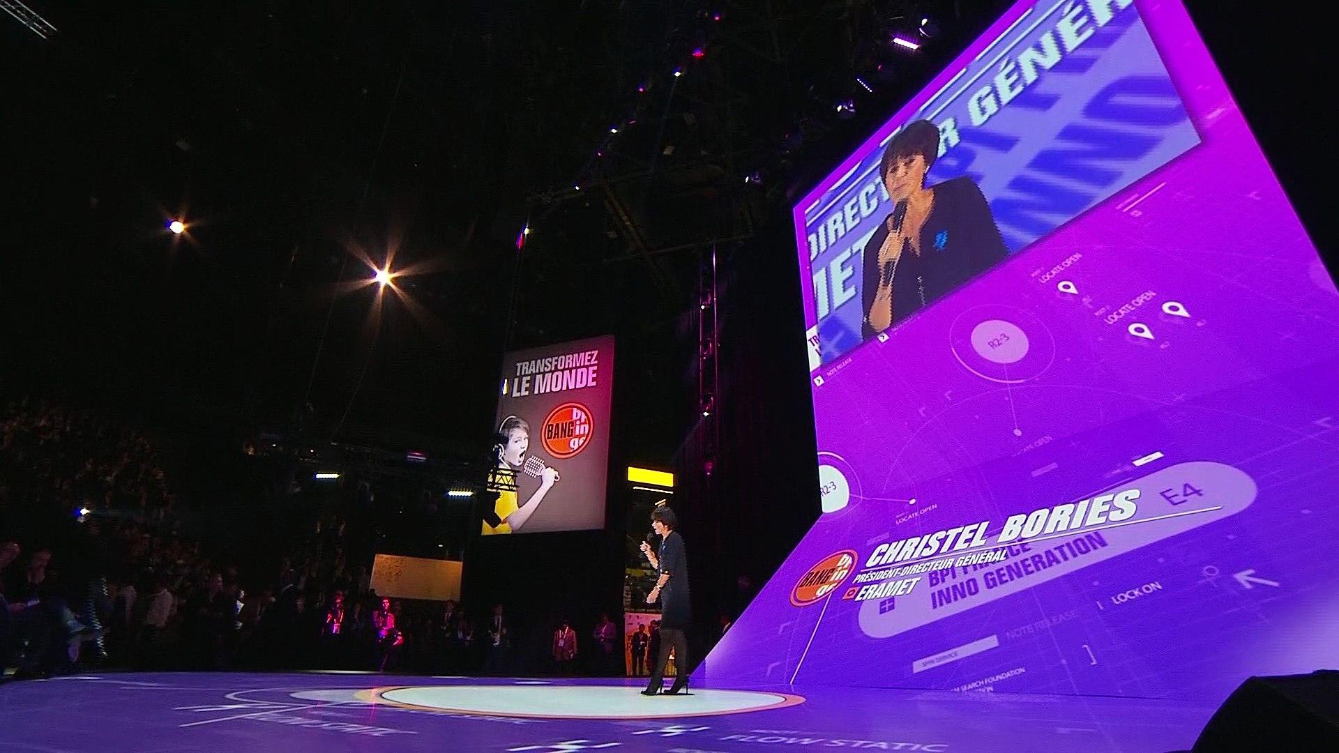 BANG - Christel Bories Président-directeur général d'Eramet
