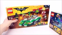 The LEGO® Batman Movie 70902 Catwoman Catcycle Chase & 70903 The Riddler Riddle Racer Sets