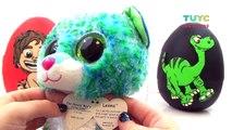 Disney Pixars The Good Dinosaur Movie SURPRISE EGGS TOYS Butch Arlo and Spot El Viaje de Arlo