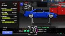 Paul Walkers Skyline    Nissan Skyline    Pixel car racer