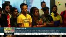 Candidatos opositores venezolanos reconocen su derrota en elección