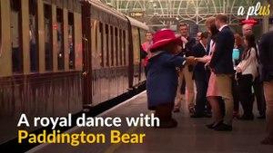 Paddington Bear Shares A Dance With UK Royal Kate