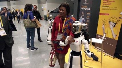 Leenby, le robot mobile de Cybedroid (TV)