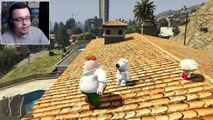 GTA 5 Mods - FAMILY GUY MOD w/ PETER GRIFFIN, STEWIE GRIFFIN & BRIAN GRIFFIN (GTA 5 Mods Gameplay)
