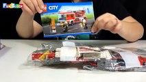 Lego City Fire Ladder Truck 60107 - İtfaiye Arabası Paket Açma - Lego City Türkçe - Fun Block