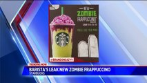Starbucks Possibly Releasing 'Zombie Frap' In Time for Halloween
