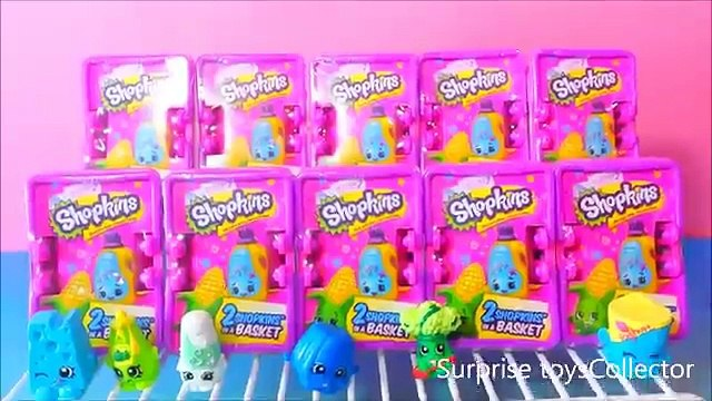 10 Shopkins SEASON 2 Blind Baskets Unboxing for Shopkins SEASON 2 with Ultra Rares