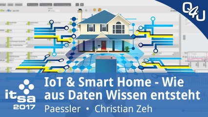it-sa 2017: IoT & Smart Home – Wie aus Daten Wissen entsteht - Paessler | QSO4YOU Tech