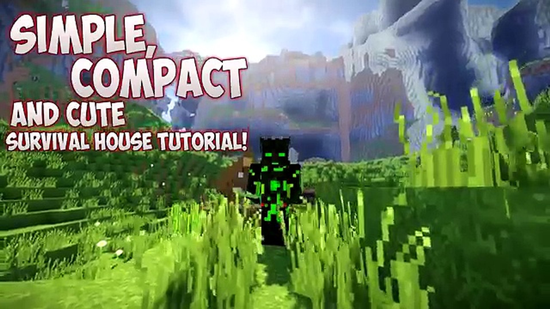 Simple Comp And Cute Survival House Minecraft Tutorial Video