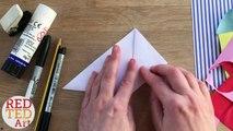 Easy Birthday Cake Bookmark DIY - Paper Bookmark Designs & Crafts - Inexpensive Cute & Easy - Kawaii