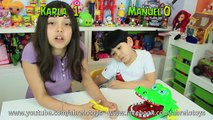 Juego de Mesa Cocodrilo Dentista o Crocodile Dentist en Español   Juegos de Mesa AbreloToys