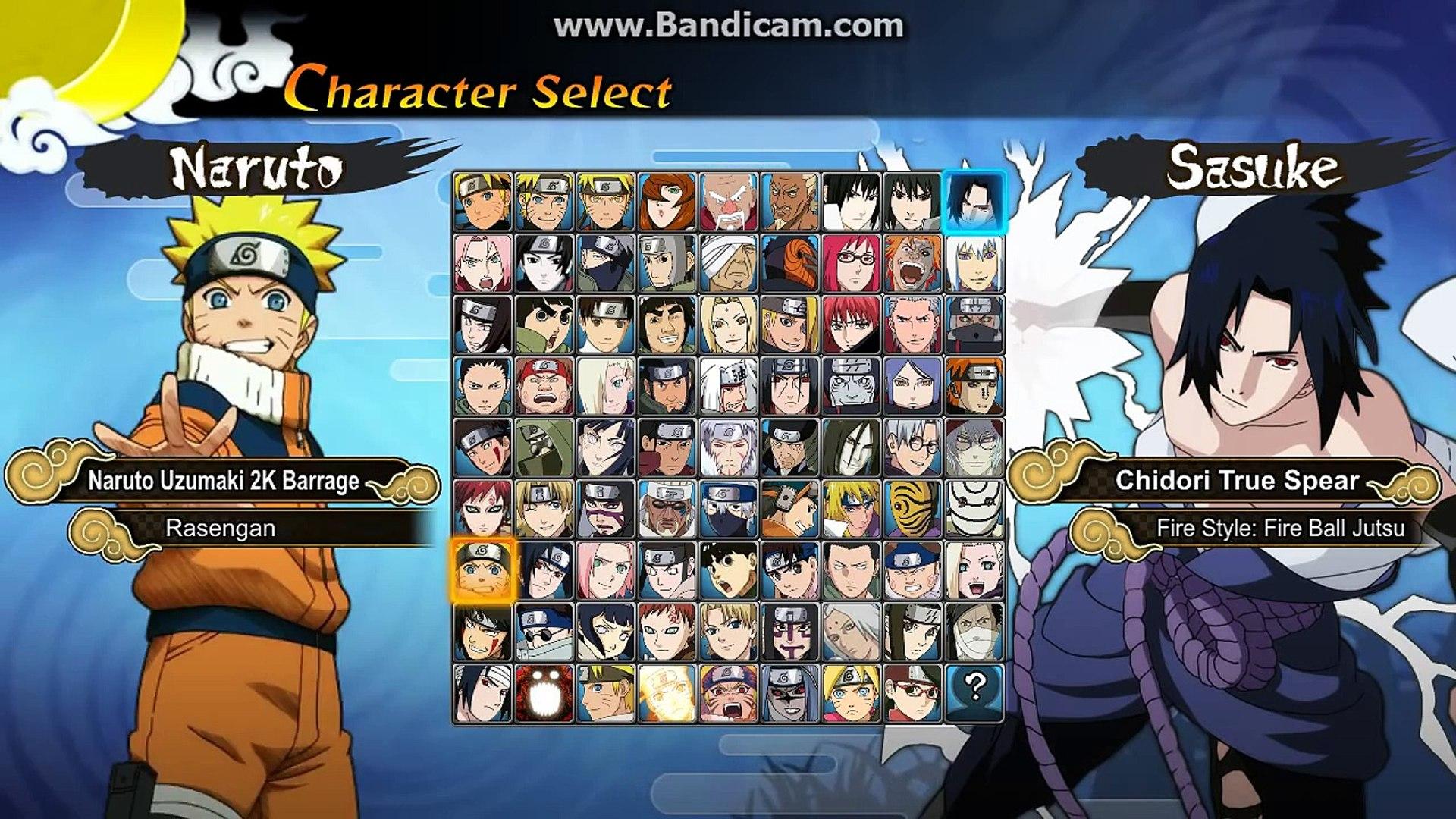 *GAME TEST* Naruto Generations M U G E N 2017
