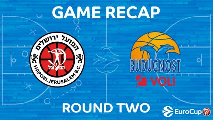 7Days EuroCup Highlights Regular Season, Round 2: Jerusalem 81-86 Buducnost