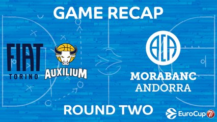 7Days EuroCup Highlights Regular Season, Round 2: Fiat Turin 92-86 Andorra