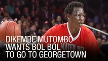 Dikembe Mutombo Wants Bol Bol To Go To Georgetown