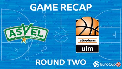 7Days EuroCup Highlights Regular Season, Round 2: ASVEL 108-77 Ulm