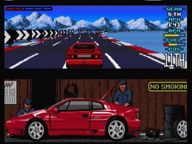 Amiga - Lotus Esprit Turbo Challenge