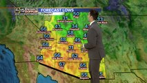 Temps expected to cool down overnight, heats back up tomorrow