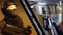 Simulacrum Ep. 2 // Airsoft P90 + Elite Force H8R Revolver