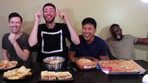 Michael Phelps Olympic Food Challenge | 12,000 Calories