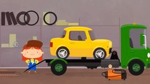 Doctor McWheelie & a tow truck. Car cartoons & cartoons for children. Doctor McWheelie English.-YDvUNwyppAE