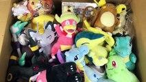 Massive Japanese Pokemon Center merchandise unboxing/haul, plushies, cards Sun and Moon merchandise!