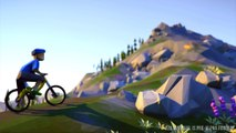 Lonely Mountains : Downhill - Bande-annonce Kickstarter