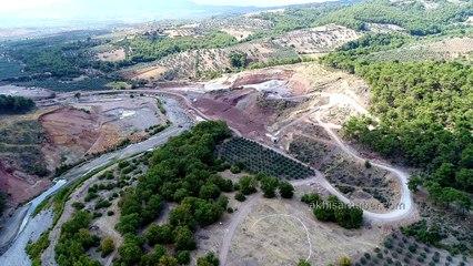 İşte Akhisar Gürdük Barajının son halini sizler için görüntüledik