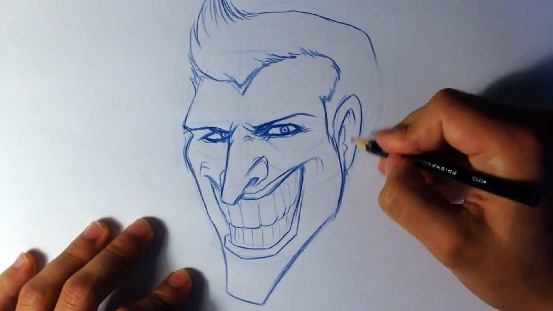 How to Draw The Joker - Easy Things To Draw
