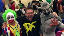 MEETING WWE SUPERSTARS AT WRESTLING LEGENDS OF THE RING CONVENTION