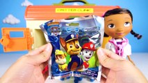 Gumball Colors Doc McStuffins Saves Paw Patrol Marshall, Spiderman, and LOL Dolls- Learn Colors #2