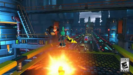 Space Port Gameplay de Sonic Forces