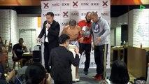 Un combattant de MMA au bord de l'effondrement lors de la pesée