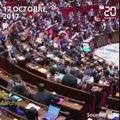 Violences faites aux femmes: Un député provoque une standing-ovation à l'Assemblée