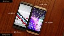 HTC One M9 vs HTC One M8 Full Comparison